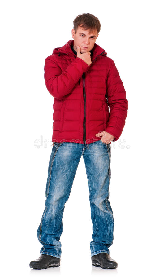 Download Man in winter clothing stock image. Image of clothing - 29335697