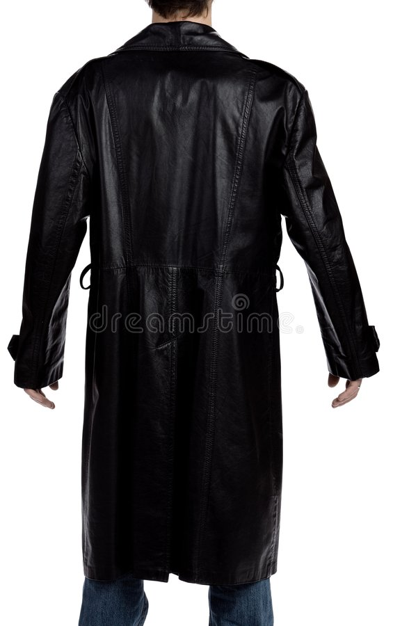 Free Man With A Black Overcoat Stock Photography - 2339352