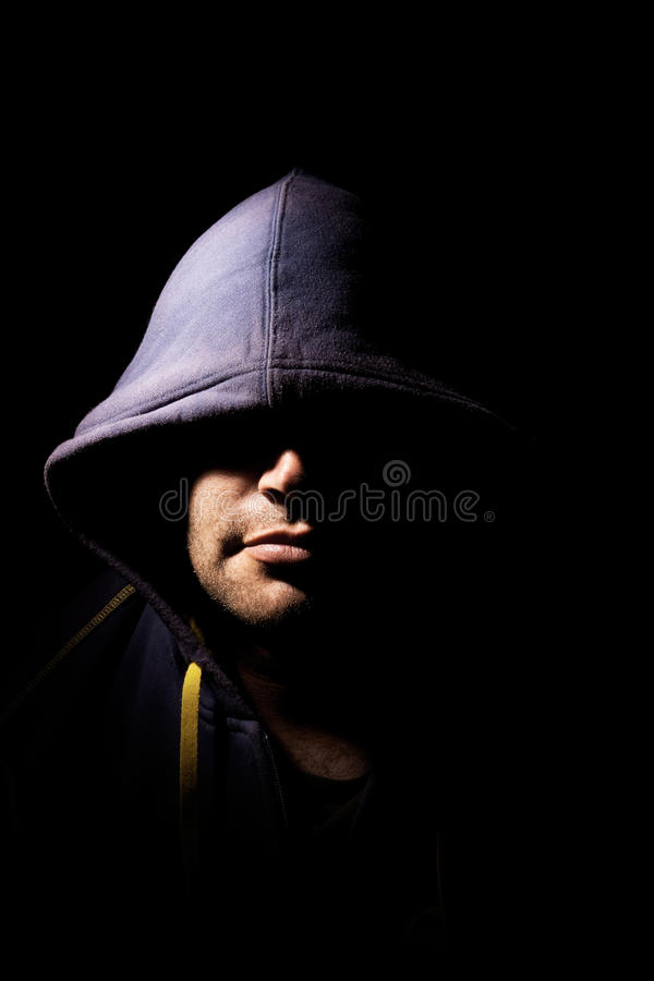 Free Man With Cowl Stock Image - 21640091