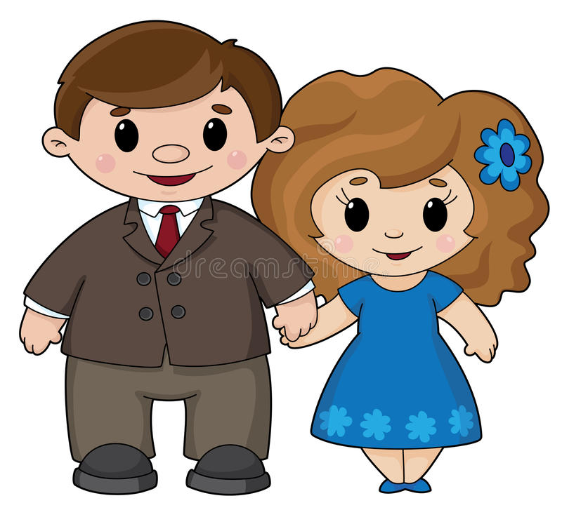 Download Man and woman stock vector. Image of people, happy, parent - 17655441