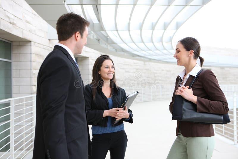 Man and Woman Business Team stock photos