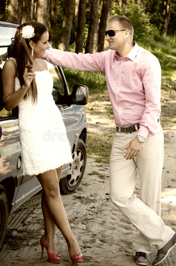 Download Man and woman chatting stock photo. Image of shirt, shoes - 26429104
