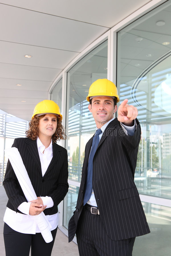 Download Man and Woman Construction stock photo. Image of happy - 7671688