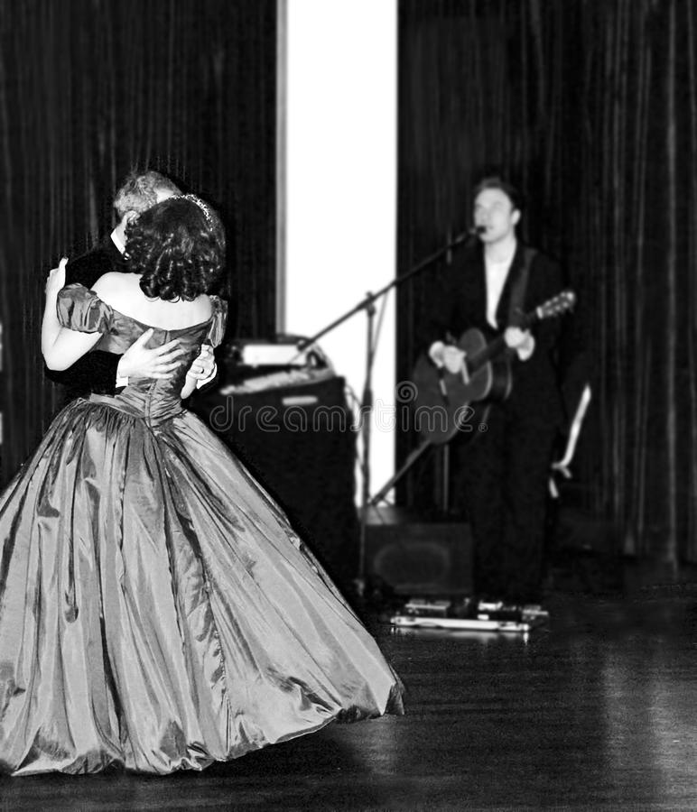 Man And Woman Dancing In Prom Apparel Near Man Singing Free Public Domain Cc0 Image