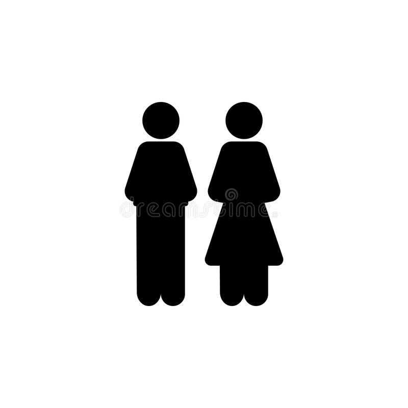 Man And Woman Icon Element Of Simple Icon For Websites Web Design