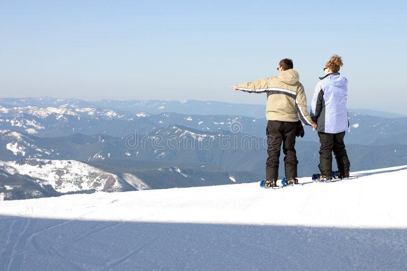 Download Man and woman looking out stock photo. Image of adventure - 39012