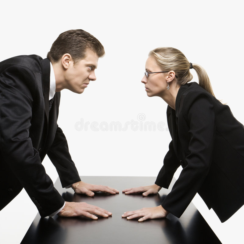 Download Man and woman staring stock photo. Image of expression - 2052034