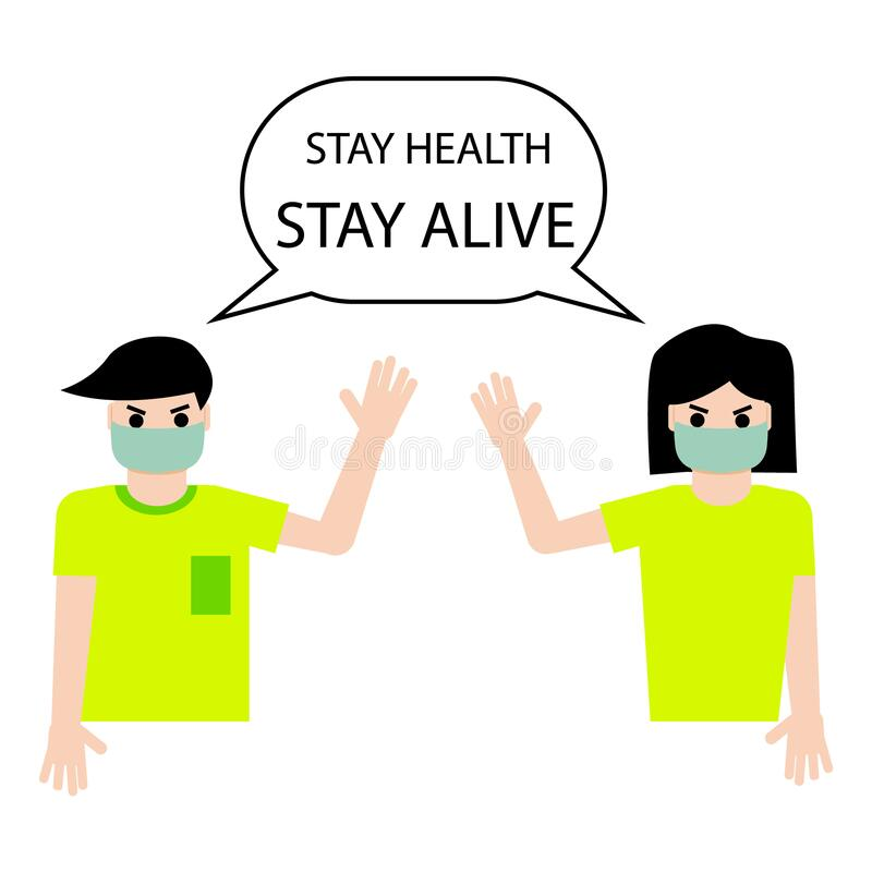 Stay Alive Message On The Vinyl Record Label Vector Cartoon Com Stock Vector Illustration Of Fresh Artistic 83310836