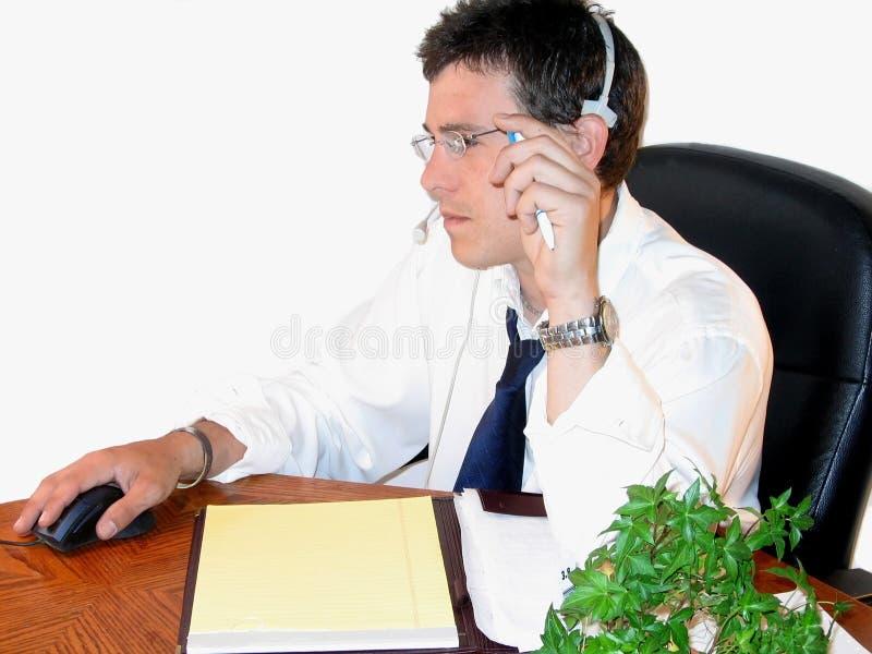 Man at Work stock photos