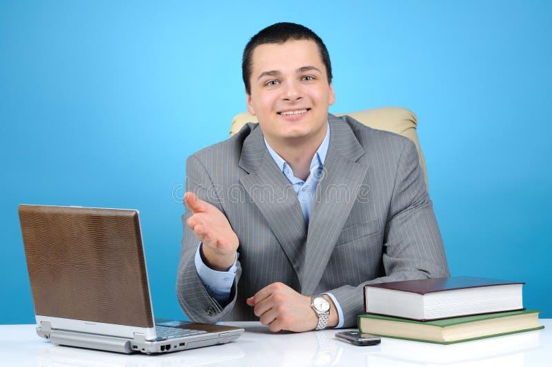Download Man At Work Stock Image - Image: 12654301
