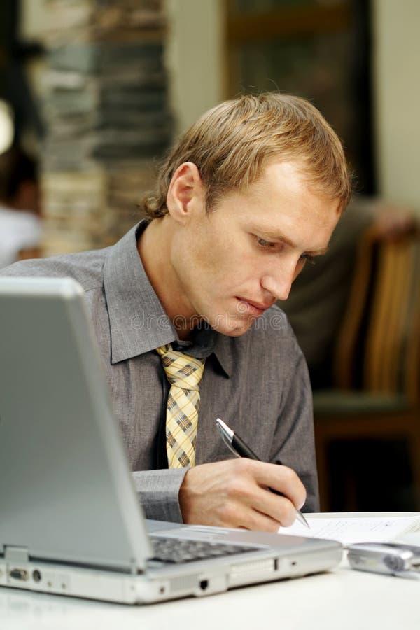 Download Man work stock image. Image of hand, finance, human, making - 19436011