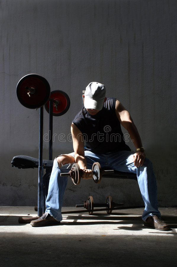 Download Man work out stock photo. Image of strong, heavy, working - 5413290