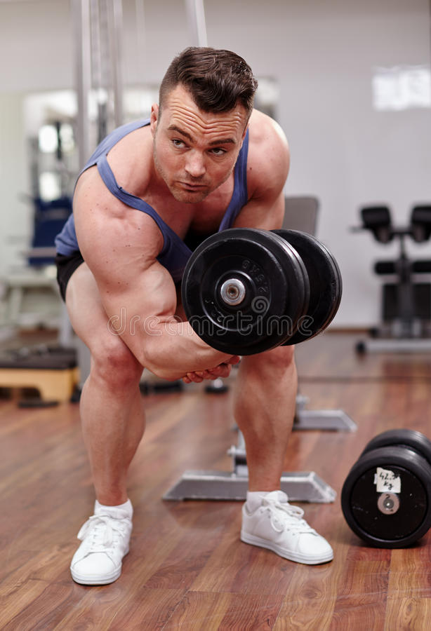 Download Man Working Biceps Stock Photo - Image: 39982994
