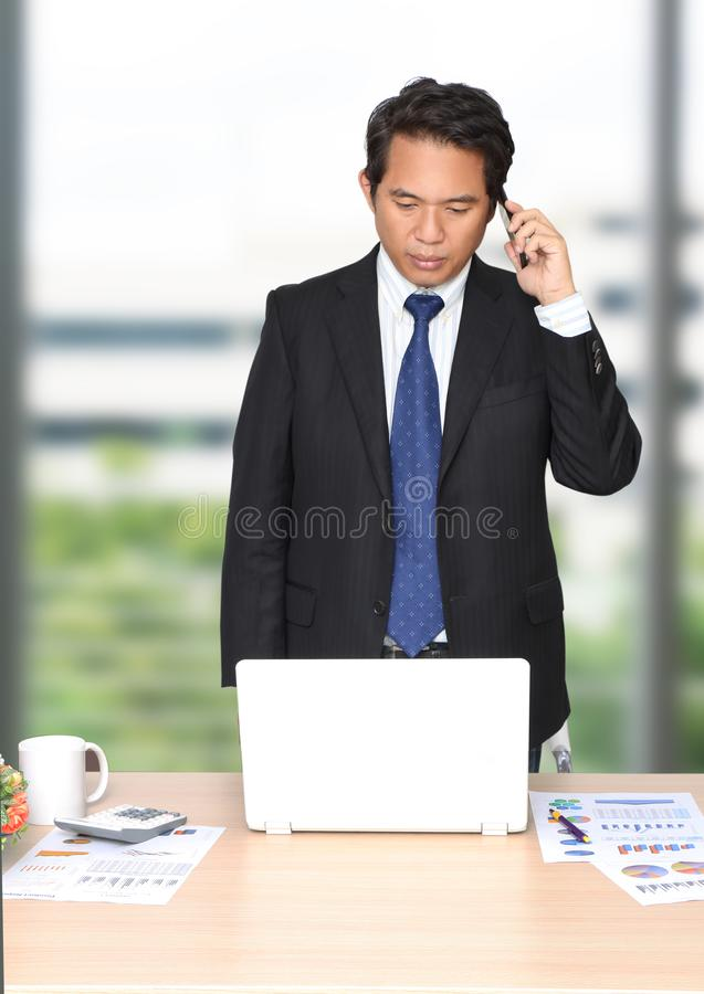Man working business royalty free stock photo