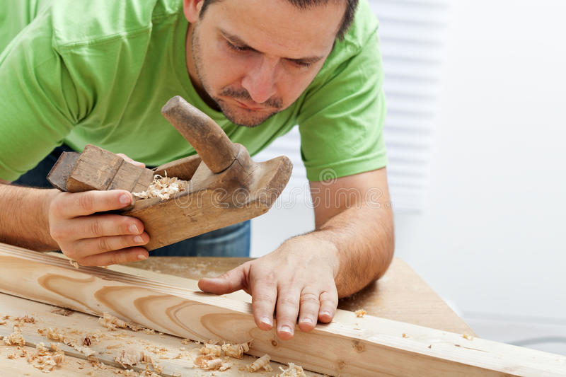 Download Man working with wood stock image. Image of finishing - 23293353