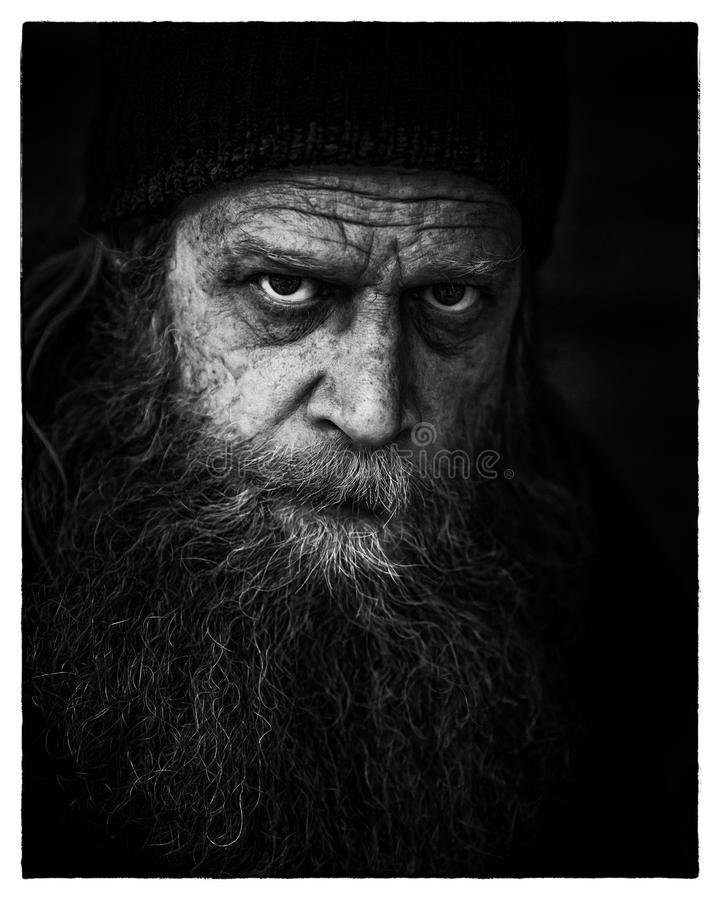 Man's Face In Grayscale Photography Free Public Domain Cc0 Image