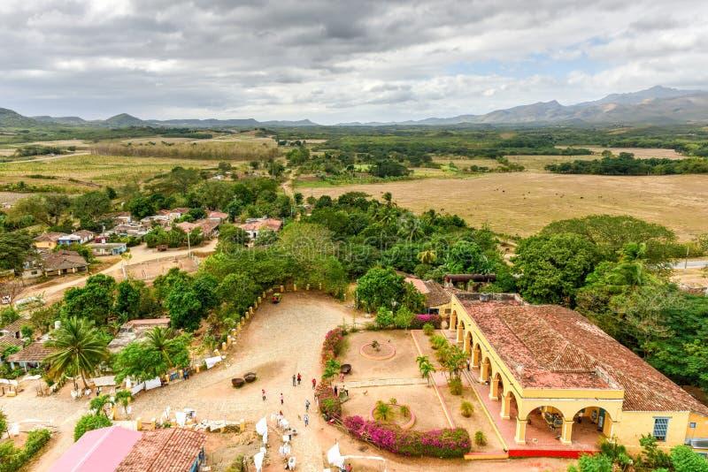 Manaca Iznaga -古巴的议院 库存照片