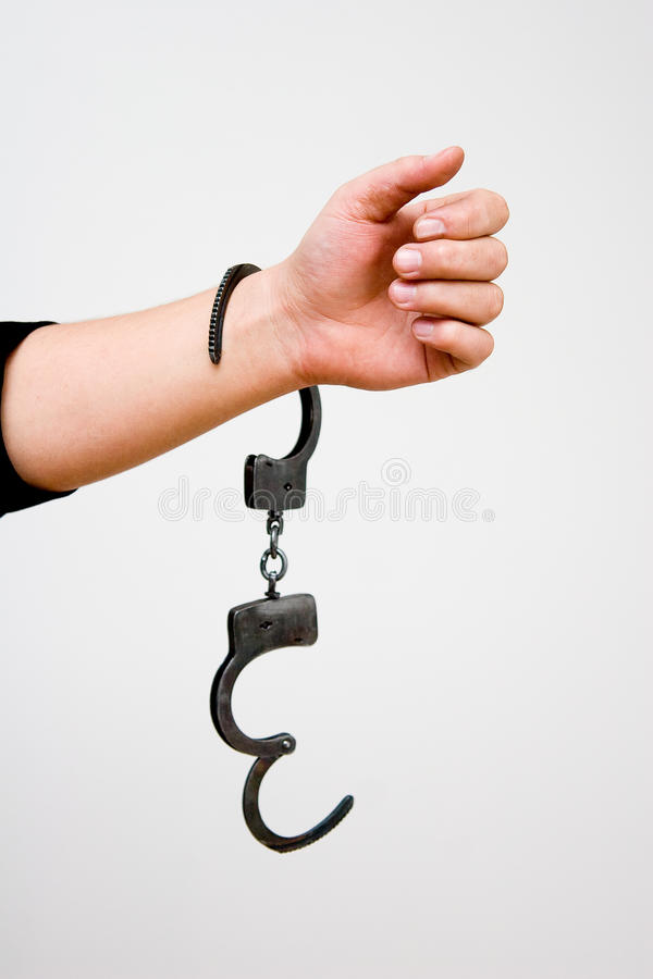 manacles fotografia stock