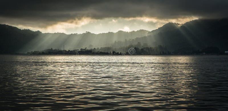 Manado, lungomare dell'Indonesia fotografie stock libere da diritti