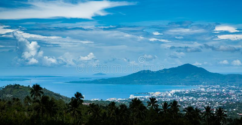 Manado Malay in Indonesia stock photography