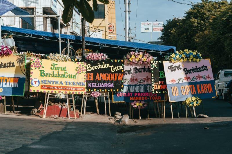 Street Of Manado City Indonesia Editorial Stock Image Image Of