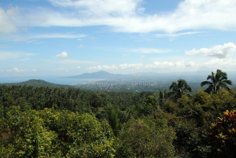 Manado stad royaltyfria bilder