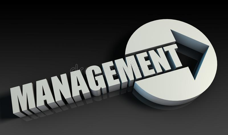 management vektor abbildung