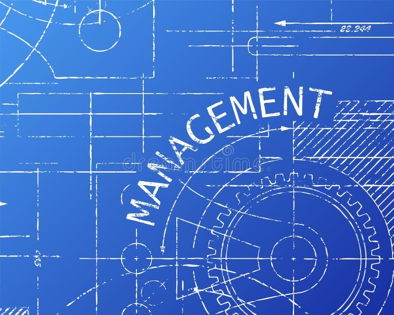 Management blueprint machine stock vector illustration of download management blueprint machine stock vector illustration of machinery collaboration 91684516 malvernweather Gallery