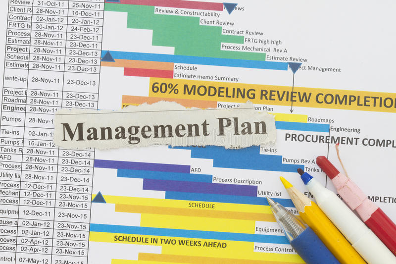 Download Management plan stock photo. Image of manage, paperwork - 30904744