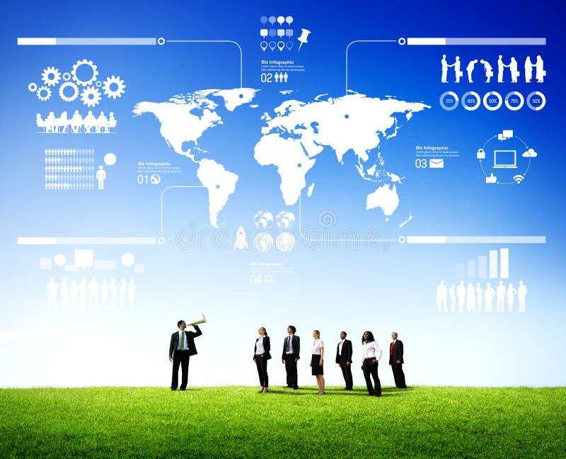 Management Teamwork Business Meeting Seminar Concept stock image