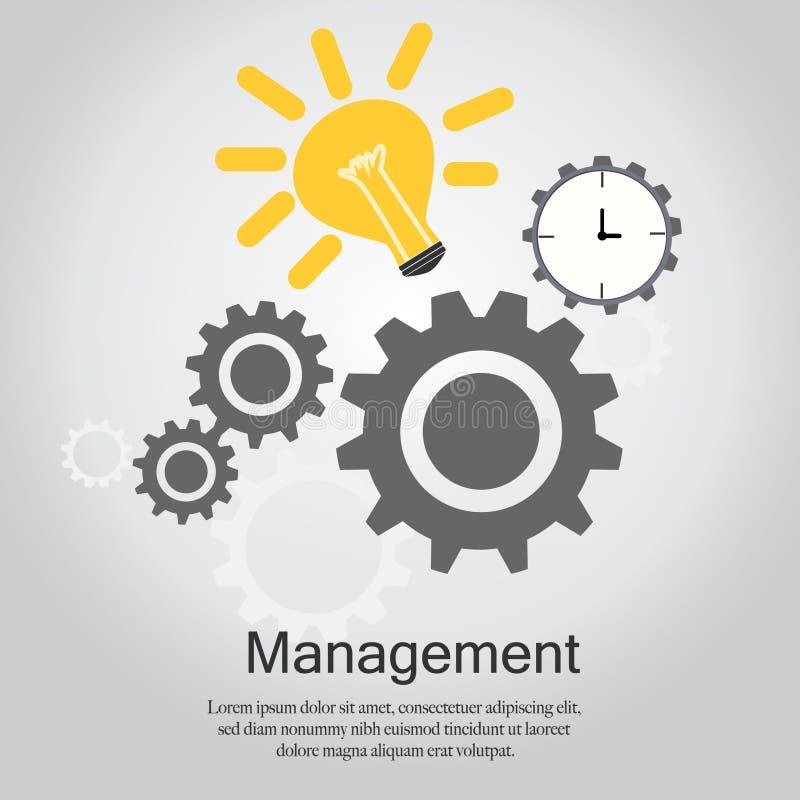 Management-Vektor lizenzfreie abbildung