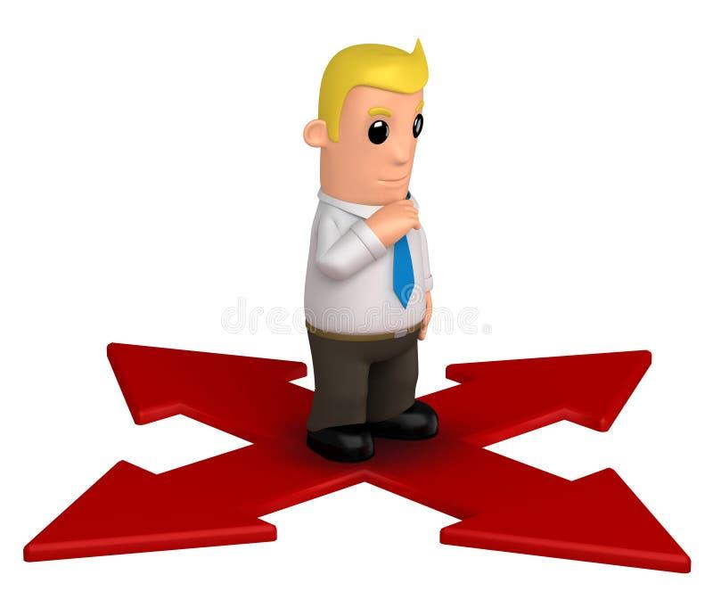 Download Manager stock illustration. Image of suit, businessman - 10672601