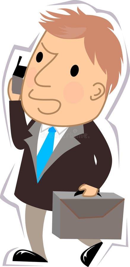 Manager royalty-vrije illustratie