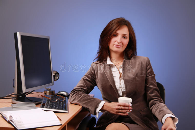 Manager royalty free stock photography