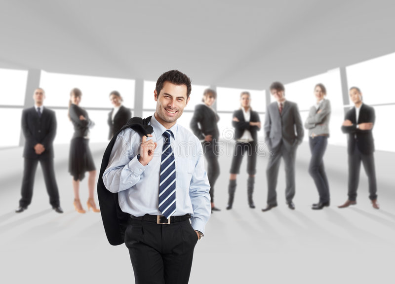 Manager royalty free stock image