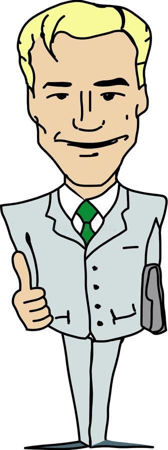 Manager royalty free illustration