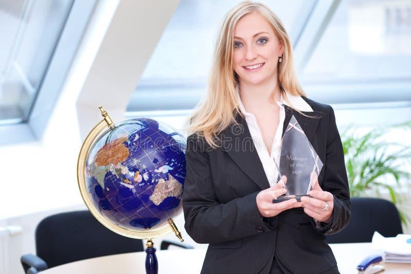 Manager des Jahres lizenzfreie stockbilder