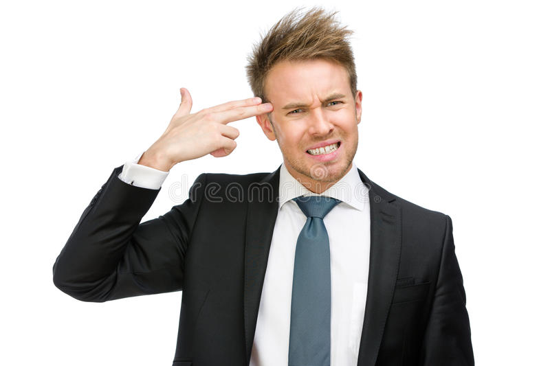 Download Manager hand gun gesturing stock image. Image of executive - 37638279