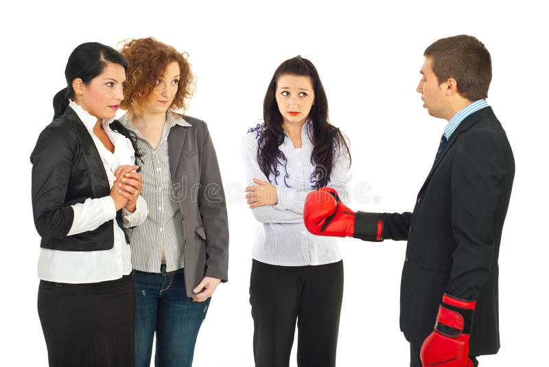 Manager having conflict with employees