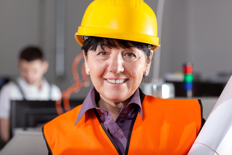 Manager holding project royalty free stock photo