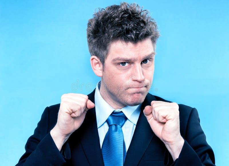 Manager motivate his teamwork. Handsome manager motivate his teamwork stock photos