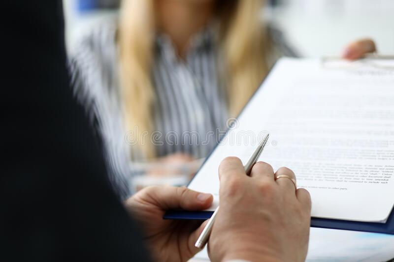Manager organizes training lectures and trainings. Consideration and consultation on controversial situations in accounting. Conducting initial counseling, and royalty free stock image