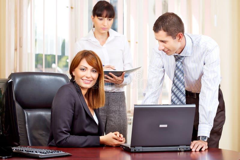 Manager und Arbeitgeber lizenzfreies stockfoto