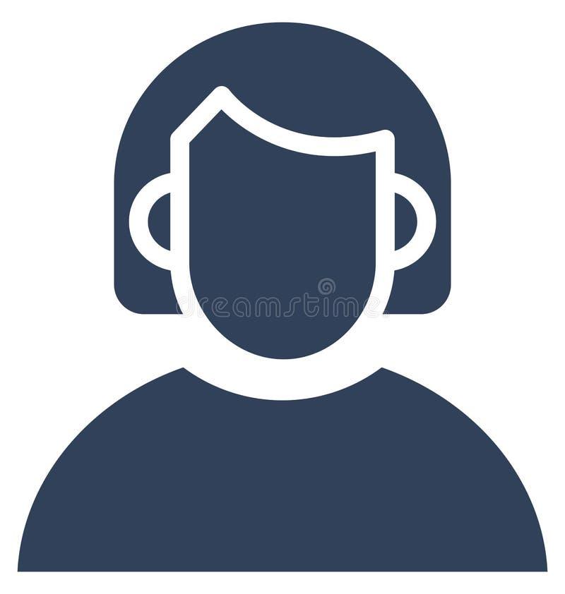 Manager Vector Icon, der leicht ändern oder redigieren kann stock abbildung