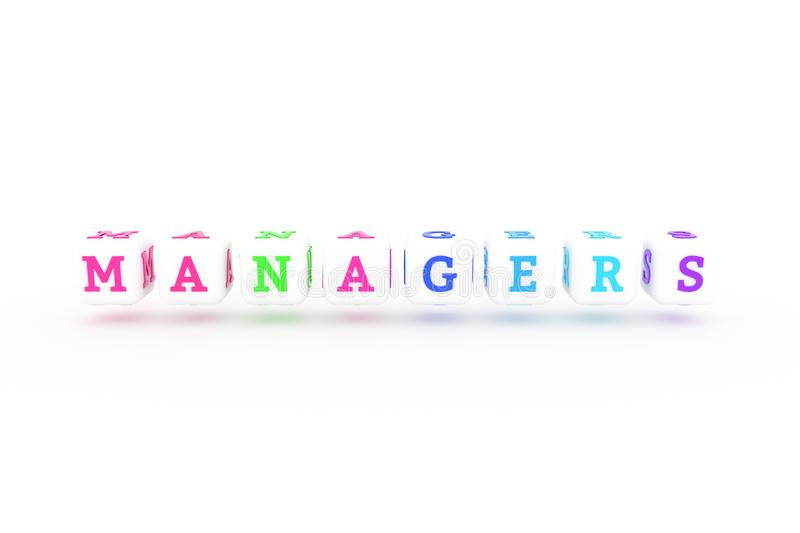 Managers, business keyword. For web page, graphic design, texture or background. Managers, business keyword. Graphic resource, texture or background, for web stock illustration