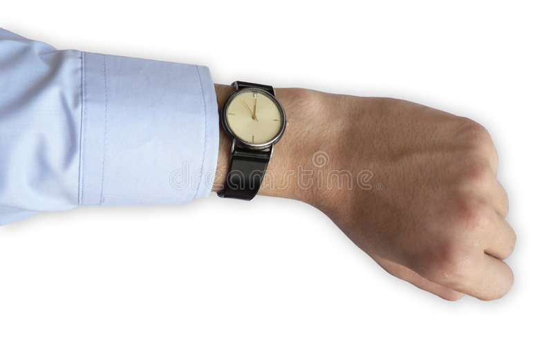 Managers Last Seconds Stock Photos