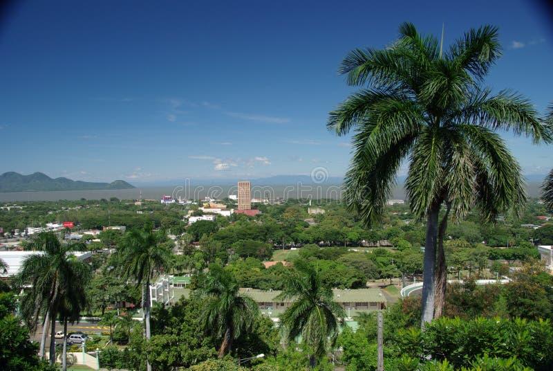 Managua, Nicaragua stock afbeelding