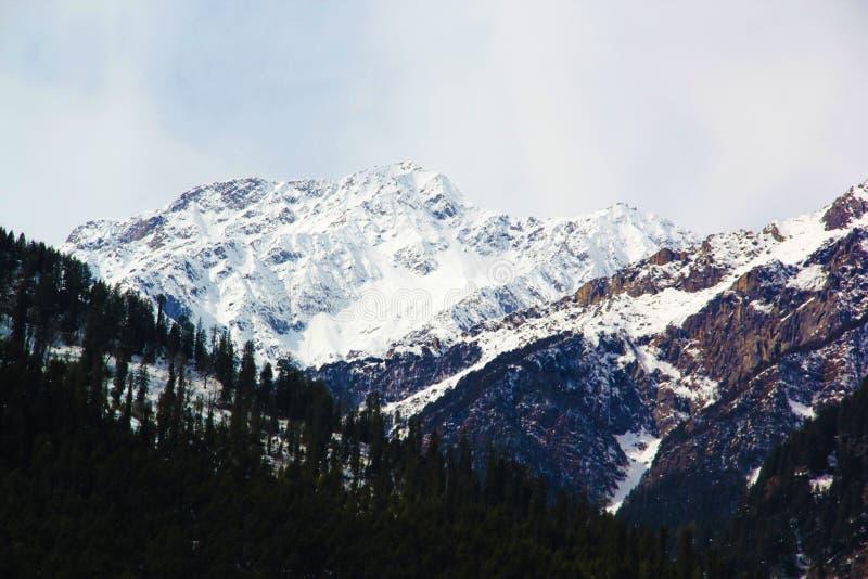 Manali, Himachal Pradesh, Inde Une belle vallée de solong chez Manali photos stock