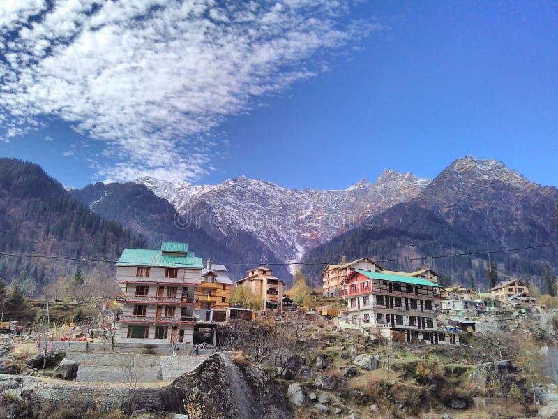 Manali, Uttarakhand, Indien stockbild