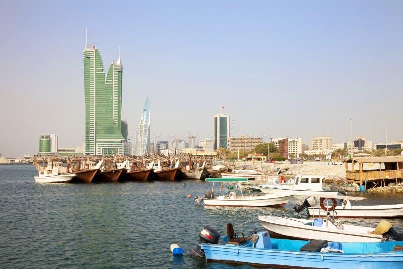 Manama, Bahrein stock fotografie